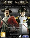 Empire Total War + NAPOLEON KLUCZ STEAM 24/7 + DLC