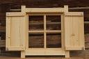 Okno drewniane z OKIENNICA domek altana PROMOCJA !