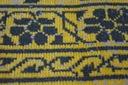 DYWAN VINTAGE 80x150 KWIATY żółty #B831 Przeznaczenie do wnętrz