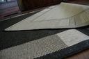 DYWAN SIZAL TARAS OUTDOOR 60x110 czarny #DEV400 Materiał wykonania polipropylen