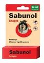 Сабунола капли блох/клещей 6ml - собаки 40 -60kg