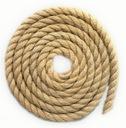 Lina jutowa żeglarska kręcona sznur 20mm na metry