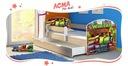 Łóżko dziecięce 160x80 szuflada materac DĄB SONOMA Bohater inny