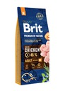 Brit премиум BY NATURE ADULT медиум М 15 +3КГ