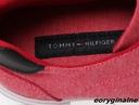 Trampki męskie Tommy Hilfiger Pawleys Medium Red Materiał zewnętrzny inny materiał