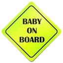 ODBLASK NA AUTO SAMOCHÓD BABY ON BOARD * MAGNES *