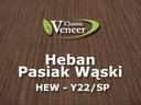 Okleina Modyfikowana Heban Pasiak Wąski HEW-Y22
