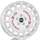 4x OZ Rally white 17 5x100 et48 felgi aluminiowe