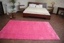 DYWAN SHAGGY 80x100 róż 5cm miękki jednolity Kolor odcienie różowego