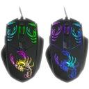 Mysz-ka Graczy Tracer Skorpion Podświetlana Kolory