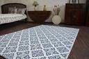 Dywan SIZAL 200x290 KWIATY biały/niebieski #B474 Przeznaczenie uniwersalne