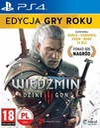 WIEDŹMIN 3 DZIKI GON GOTY / PS4 / PL dubbing Tytuł The Witcher 3: Dziki Gon GOTY