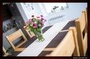 Dębowy stół rozkładany 160/85 dąb natura Szerokość mebla 160 cm