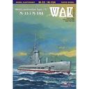 ОАК 2/16 подводные лодки типа М-35 и М-104 1:200 доставка товаров из Польши и Allegro на русском
