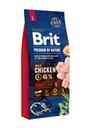 Brit премиум BY NATURE ADULT LARGE Л 15 КГ