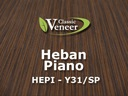 Okleina Modyfikowana Fornir Heban Piano HEPI-Y31