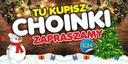 Baner Reklamowy - Choinki Fajerwerki Karp Święta
