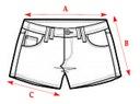H&M HOTPANTS szorty cienki jeans denim 42 XL Zapięcie zamek