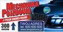 GOTOWE PROJEKTY Baner reklamowy 2mx1m AUTO SERWIS Rodzaj drukowany pod wymiar