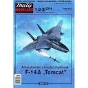 Маленький Модельер 1-3/14 - Самолет F-14A TOMCAT 1:33 доставка товаров из Польши и Allegro на русском