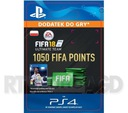 FIFA 18 1050 Punktów [kod aktywacyjny]
