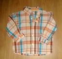 DISNEY koszula w kratę 86