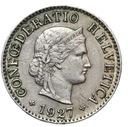 Szwajcaraia - moneta - 5 Rappen 1927