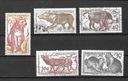 Czechosłowacja znaczki zestaw kasowany Ssaki