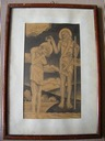 Wostan św. Jan chrzci Jezusa - grafika 1931