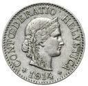 Szwajcaraia - moneta - 10 Rappen 1914 - 2 - RZADKA
