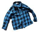 Koszula w niebieską kratę H&m 110 116