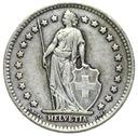 Szwajcaraia - moneta - 1 Frank 1945 - 2 - SREBRO