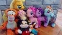 Kucyki My Little Pony + tygrysek + miki + goofy