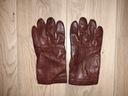 POLO RALPH LAUREN męskie rękawiczki SKÓRA
