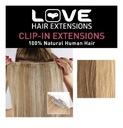 LOVE HAIR EXTENSIONS NATURALNA DOPINKA BLOND