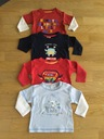 MOTHERCARE EARLY DAYS BABALUNO BLUZKI 68 3-6 4szt.