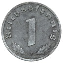 III Rzesza - moneta - 1 Reichspfennig 1943 F