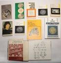 Zestaw 10 katalogów monet i banknotów - stare