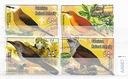 Palestyna zestaw znaczków kasowanych Ptaki