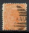 1009 kasowane kol bryt Tasmania nr 43