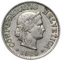 Szwajcaraia - moneta - 5 Rappen 1930 - RZADKA !