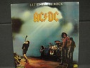 AC/DC – Let There Be Rock LP G+ UK 1977