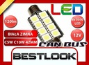Żarówka LED 42mm 8xSMD 5050 CAN BUS W5W T10 CANBUS