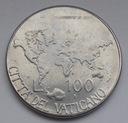 1985r. - Watykan - 100 Lirów - Jan Paweł II