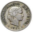 Szwajcaraia - moneta - 5 Rappen 1921