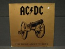 AC/DC – For Those About To Rock LP EX GER 1981