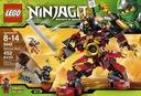 Lego Ninjago 9448 pudełko, instrukcja