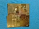 Banknot Pozłacany 24 karat 50.Euro