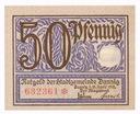 W. M. Gdańsk Notgeld 50 Pfennig 1919 st.1 UNC