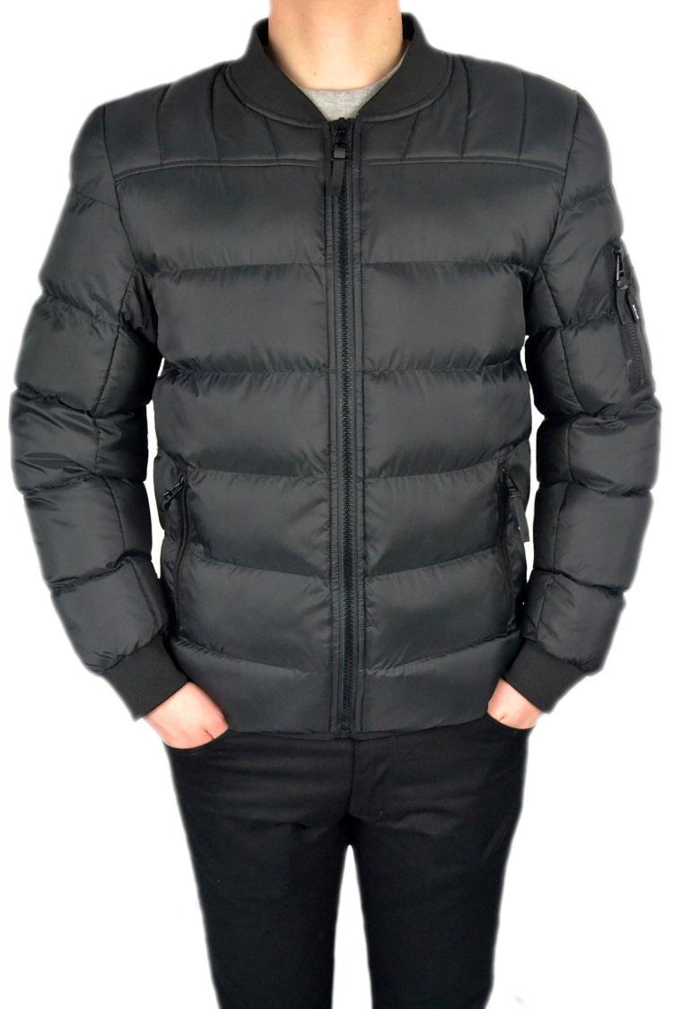 67f6b30d7108e Męska pikowana kurtka czarna 000125 Roz. XL Refree - odzież męska i ...